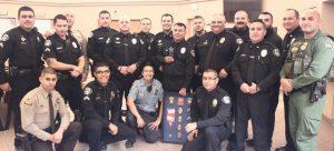 Officer Johnson Retires