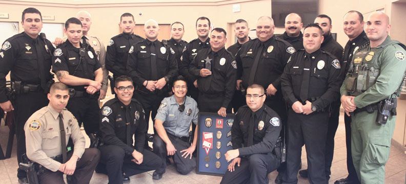 Officer Johnson Retires