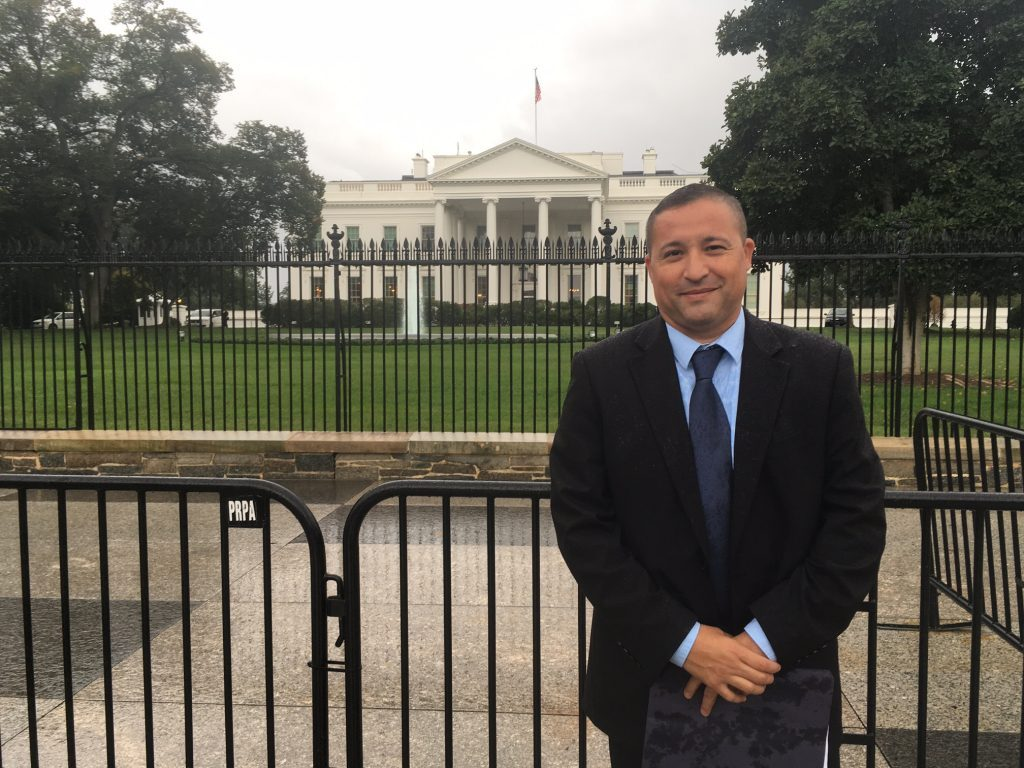 Figueroa at the White House